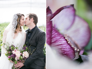 A Spring Greenhouse Wedding