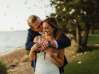 Michelle's Edgewood Tahoe  Lake Front Wedding
