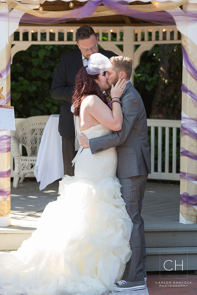 d10a6280e869 With her hip style and husbands Chuck Taylor s this def was an exciting  wedding to partite