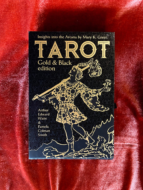Gold and Black Edition Tarot