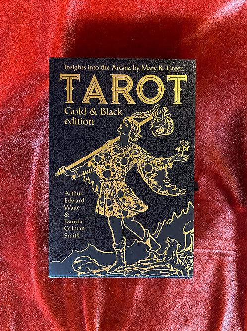 Gold & Black Edition Tarot