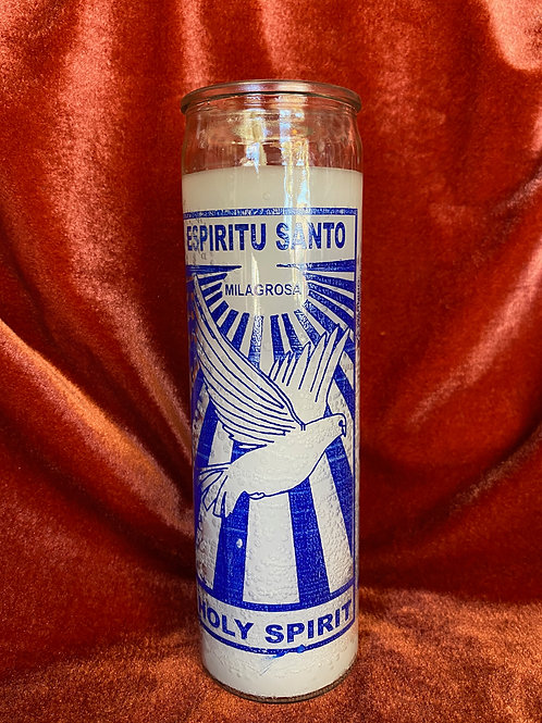 Holy Spirit Candle
