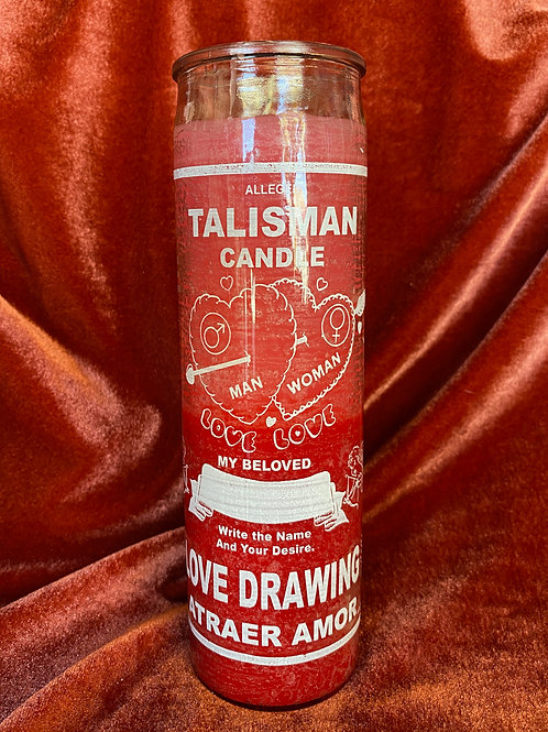 Talisman Love Drawing Candle
