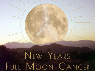 New Year Full Moon Cancer