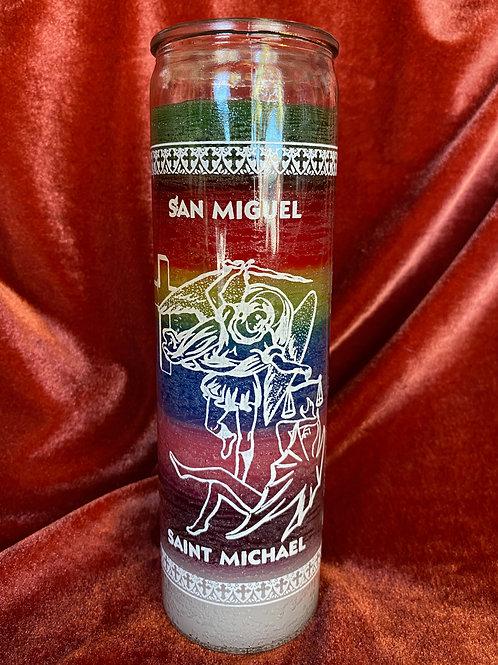 Saint Michael ~San Miguel Candle
