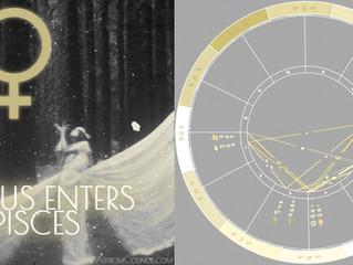 Venus Enters Pisces