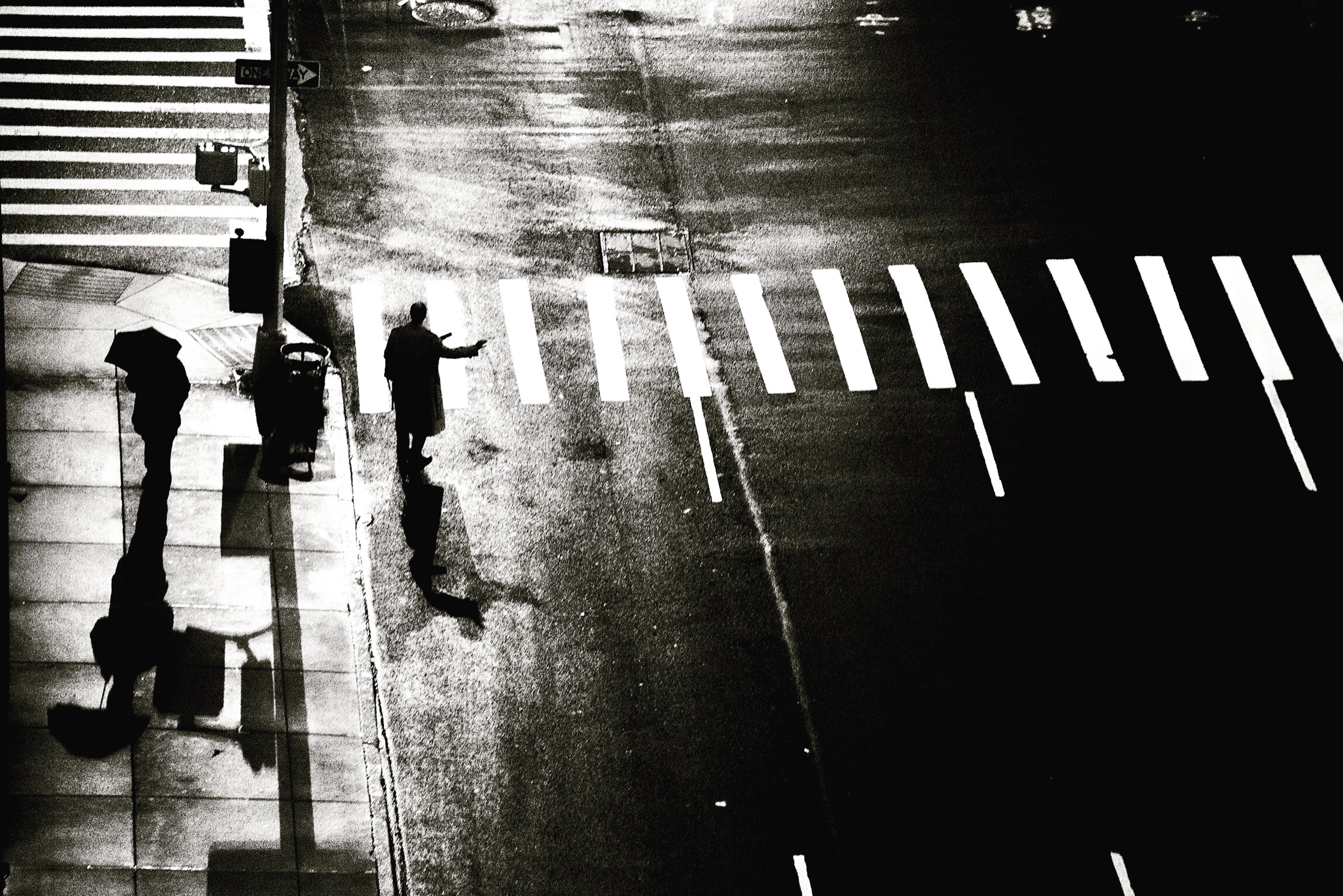 Il pleut sur Manhattan