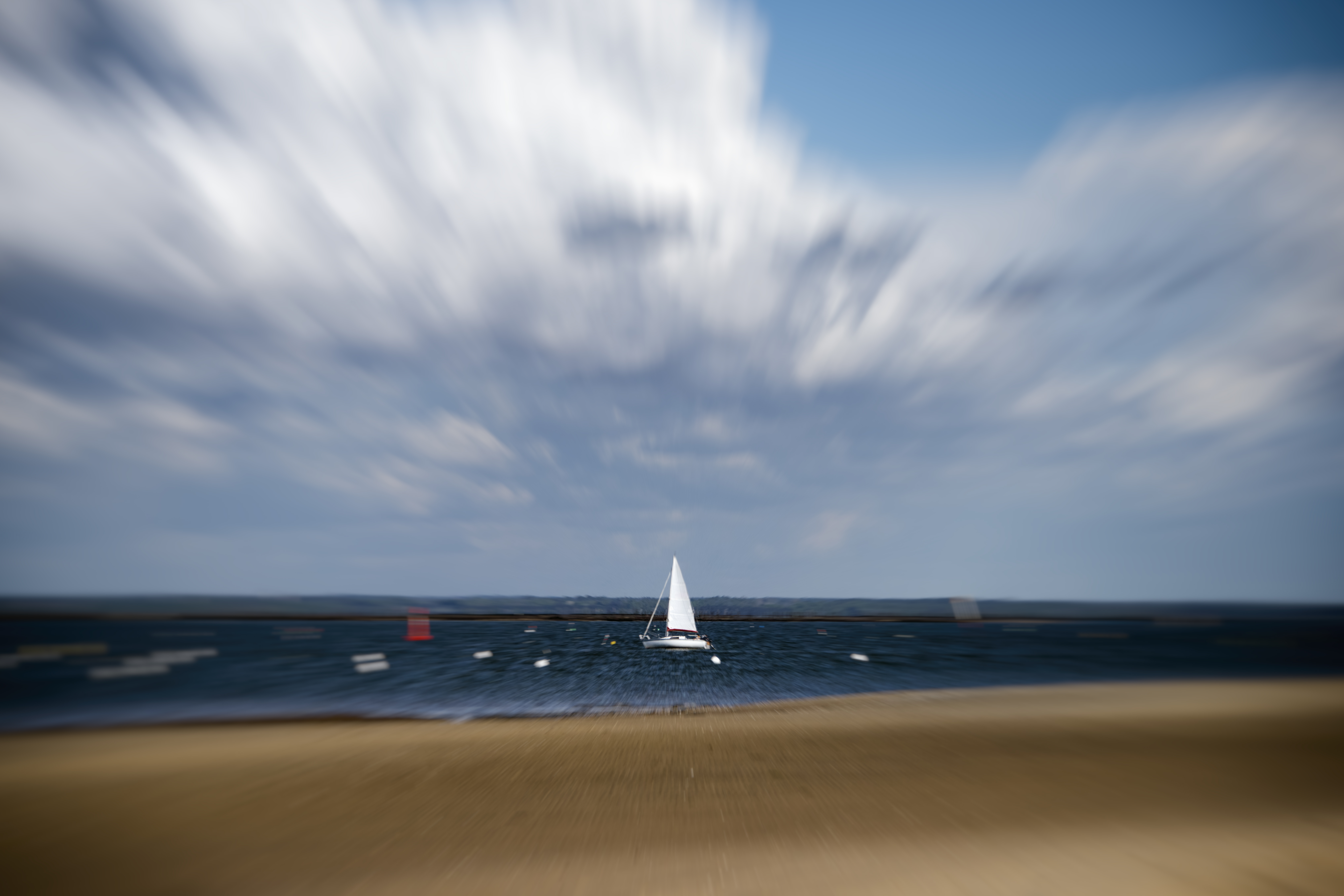 Sailboat zoom