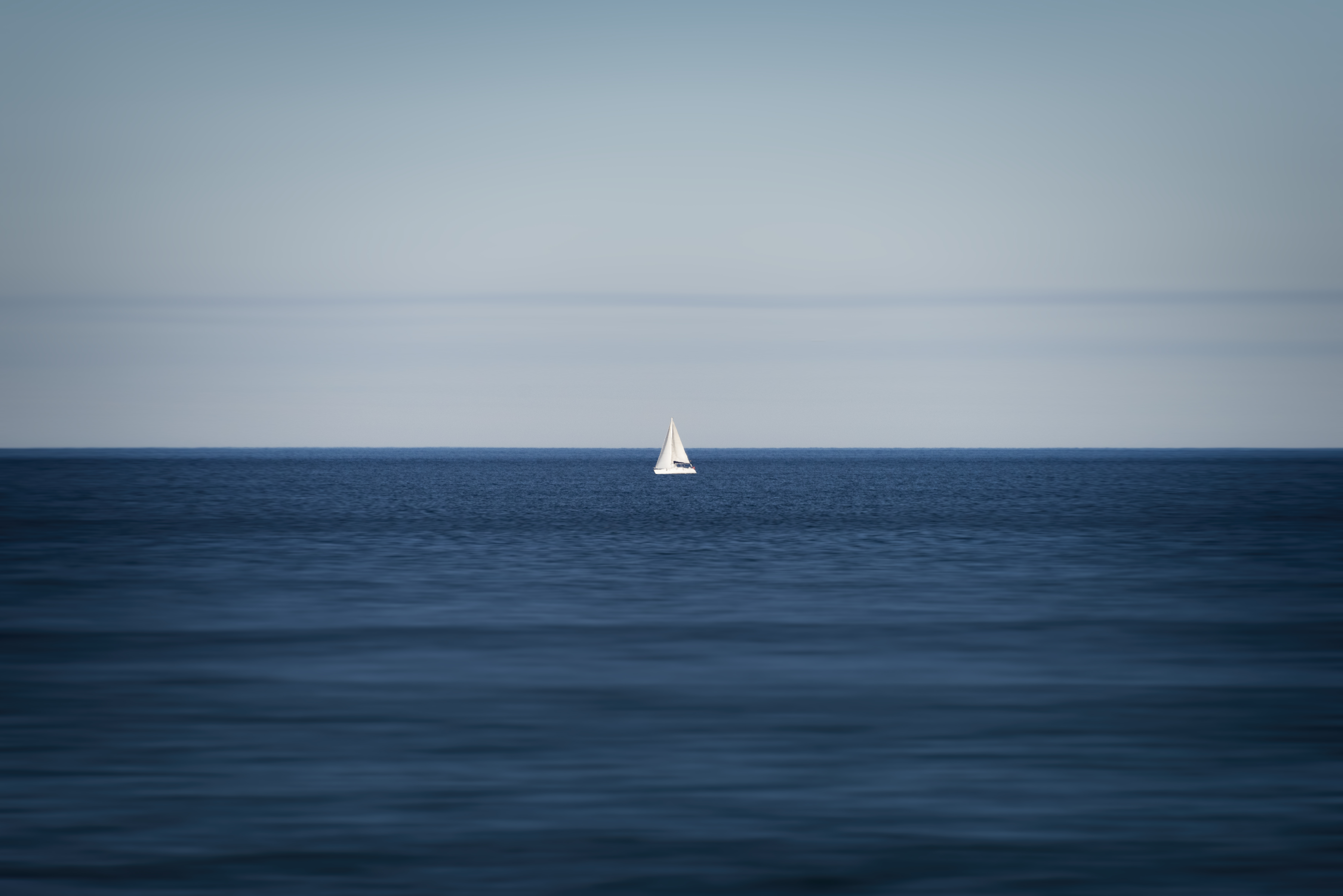 Sail boat in Spain