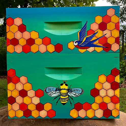 IN STOCK: Bee Happy and Bluebirds ASSEMBLED