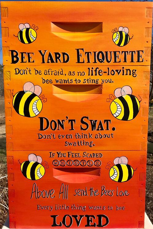 Bee Yard Etiquette Set
