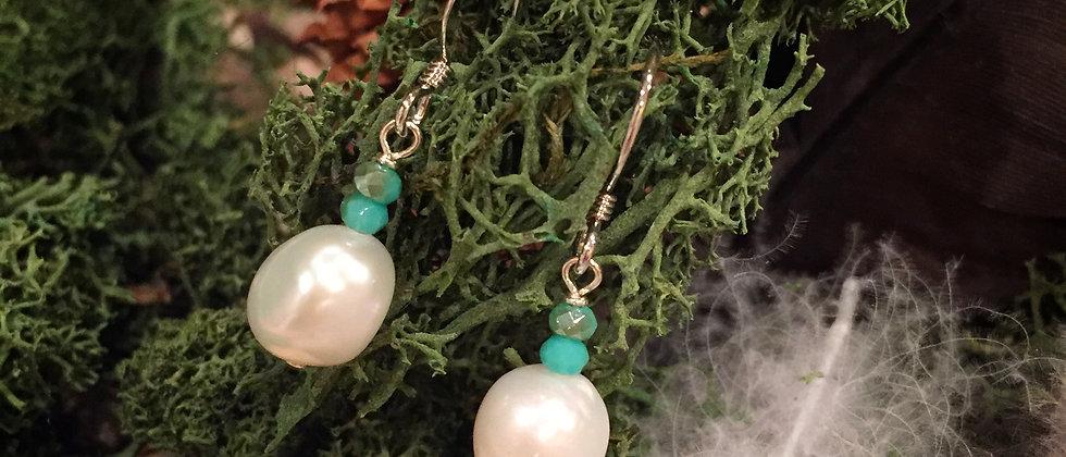 Nugget pearls & Crystal
