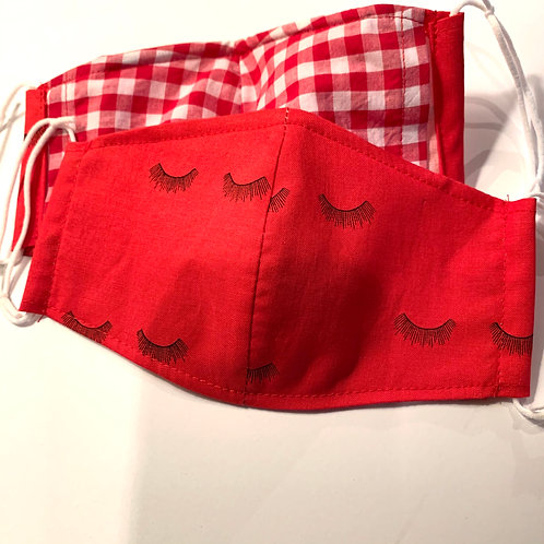 Women's Lashed Out Face Mask