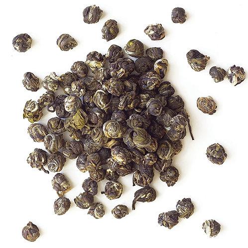 Organic Green Jasmine Pearls Loose Leaf Tea