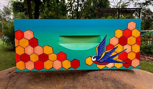 Bluebird and Honeycomb
