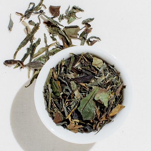 Organic Liquid Jade Green and White Loose Leaf Tea