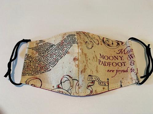 Little Kid's Marauder's Map Harry Potter Face Mask