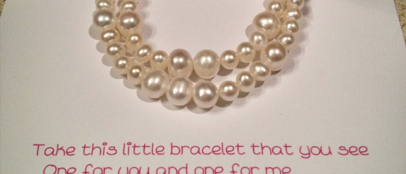 Mother & Daughter Poem Bracelet
