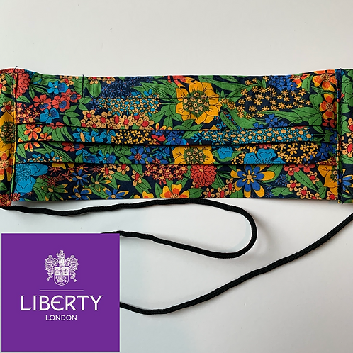 Liberty of London Pleated Face Mask in Garden Brights
