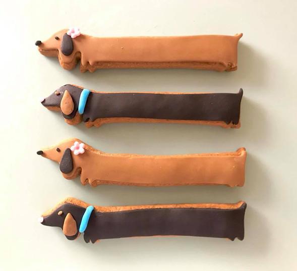 Sausage Dog Biscuits