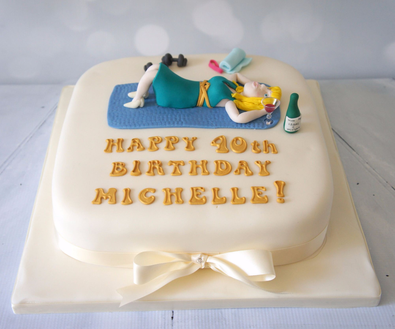 40th Birthday Figure Cake