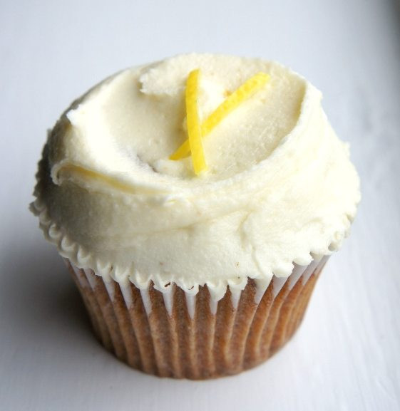 Earl Grey and Lemon Cupcake