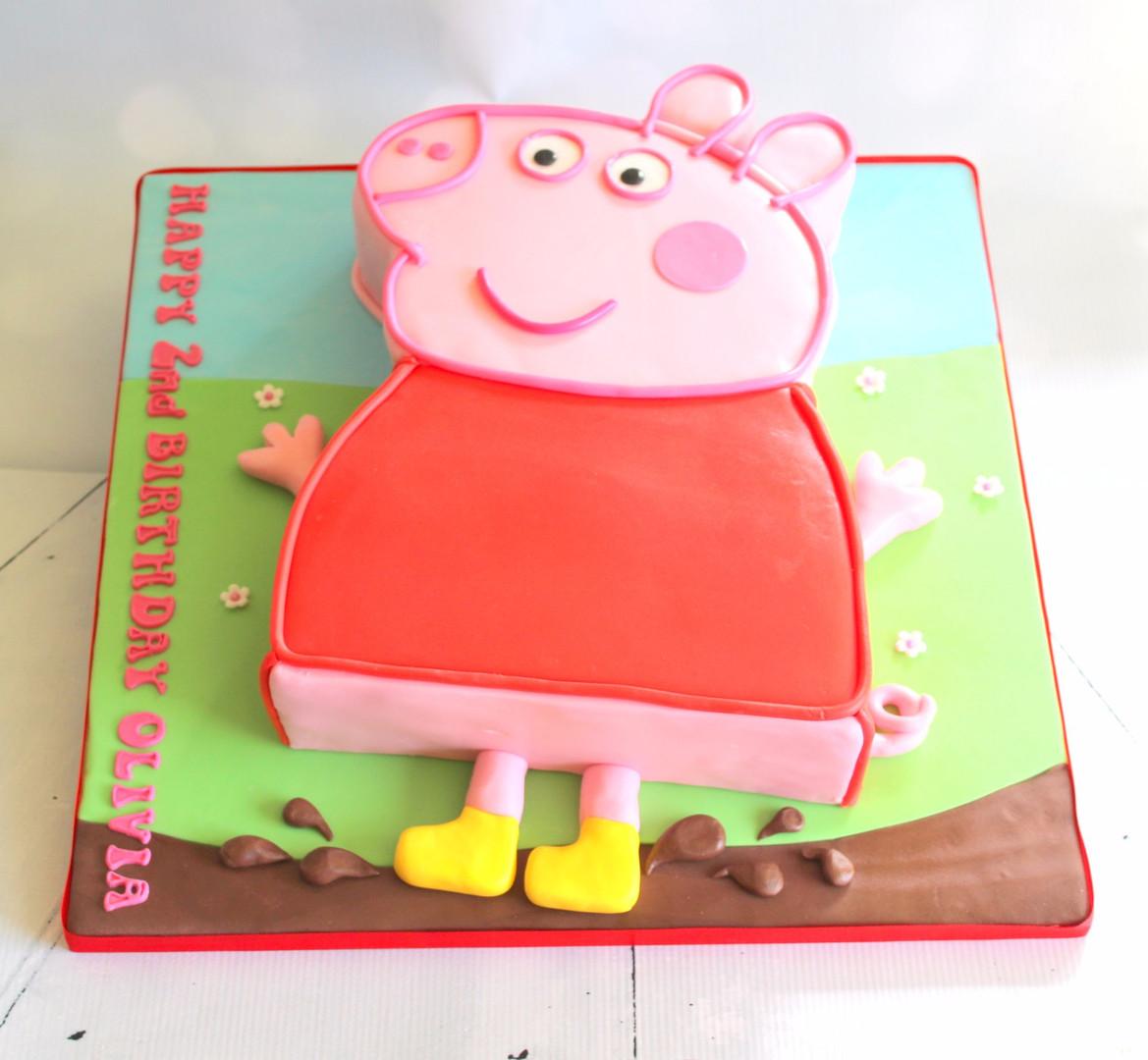 2D Flat Peppa Pig