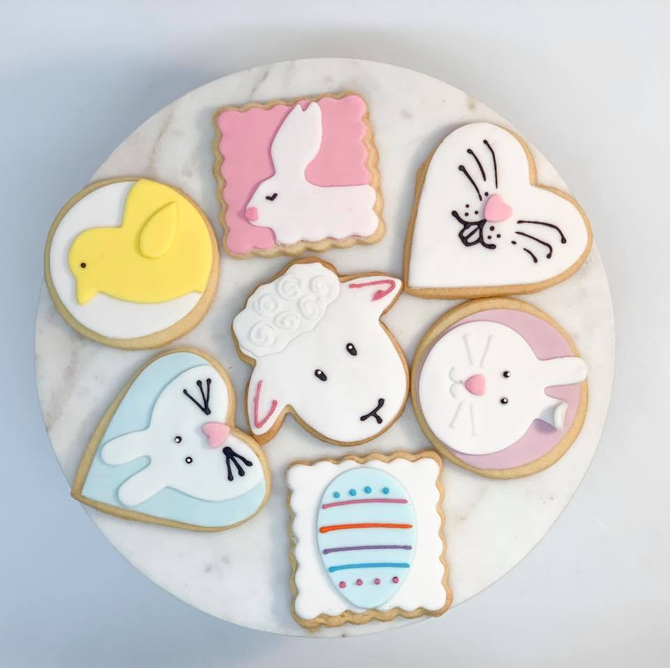 Easter Themed Iced Biscuits