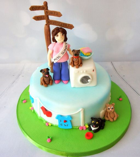 Figure Birthday Cake