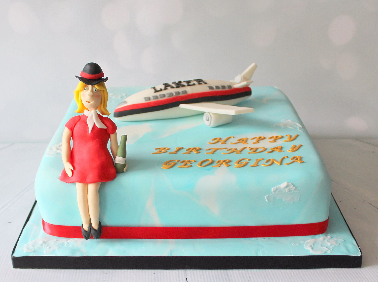 Air Hostess cake