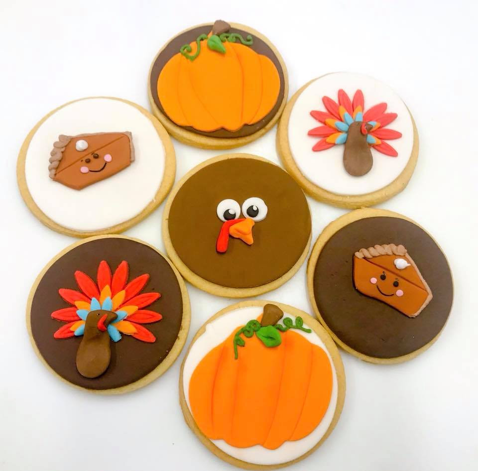 Thanks Giving Themed Biscuits