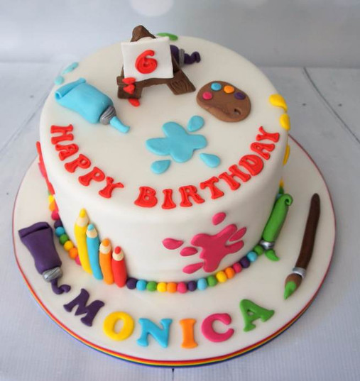 Arts and Crafts cake