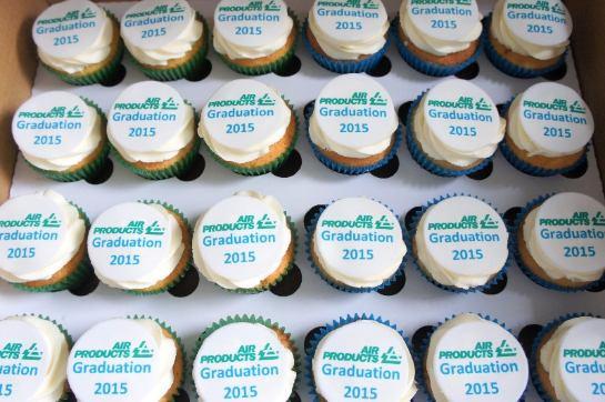 Corporate Logo Cupcakes 2