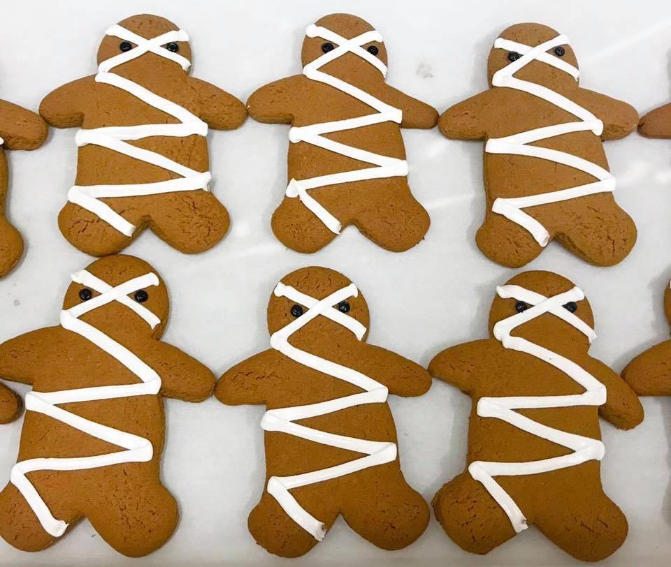 Mummy Gingerbread Men