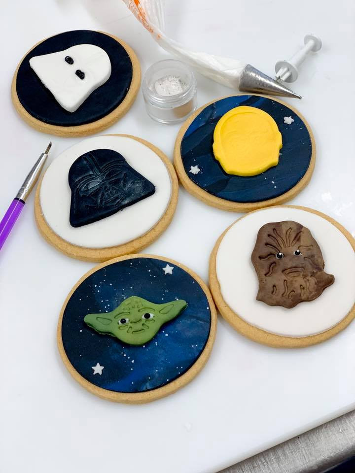 Star Wars Face Biscuits