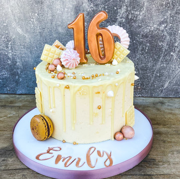 Personalised Drip Cake