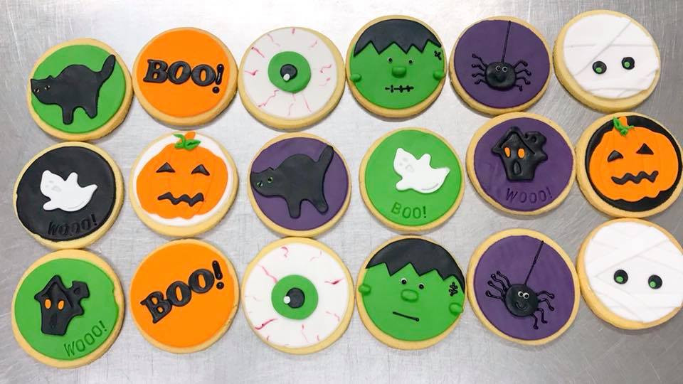 Halloween Themed Biscuits