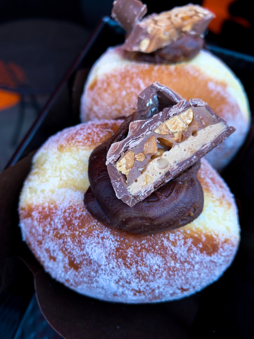 Snickers Doughnut Donut Gingerbread man
