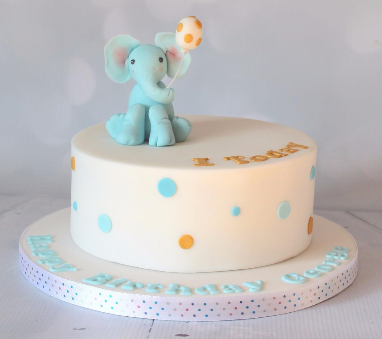 Baby Elephant Cake with Balloon.jpg