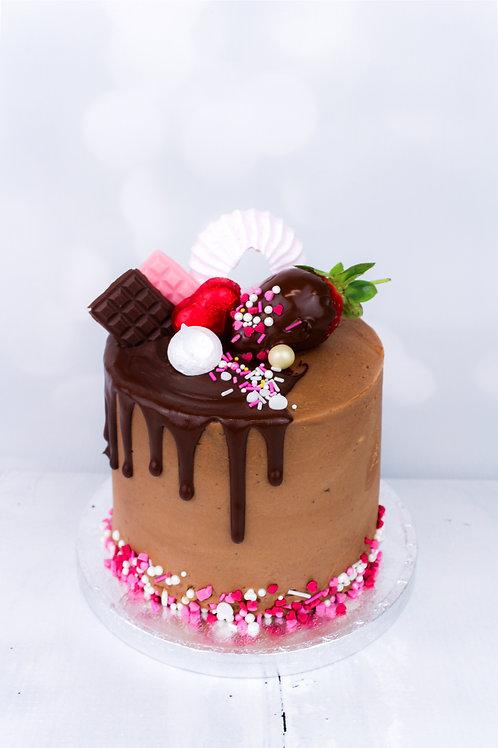 "Mini 4"" Chocolate Cake"