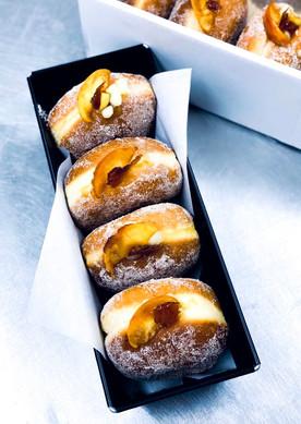 Apple and Cinnamon Doughnuts GBM Bakery
