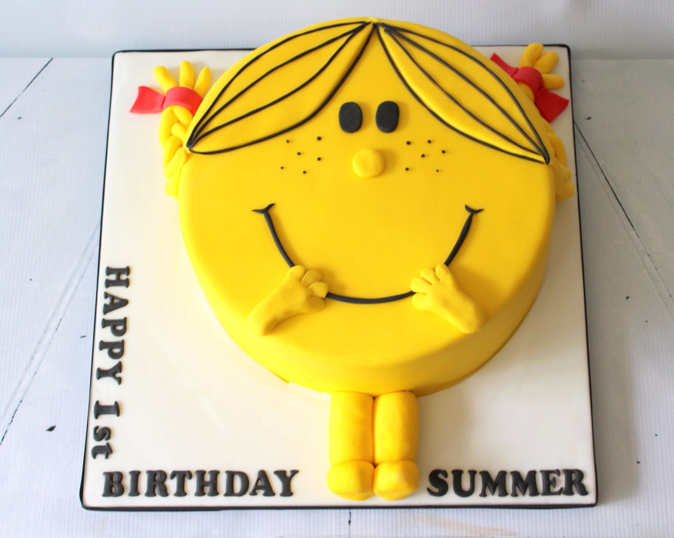 Little Miss Sunshine Cake