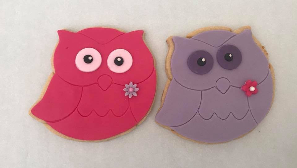 Owl Iced Biscuits