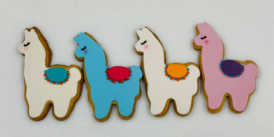 Iced Llama Biscuits