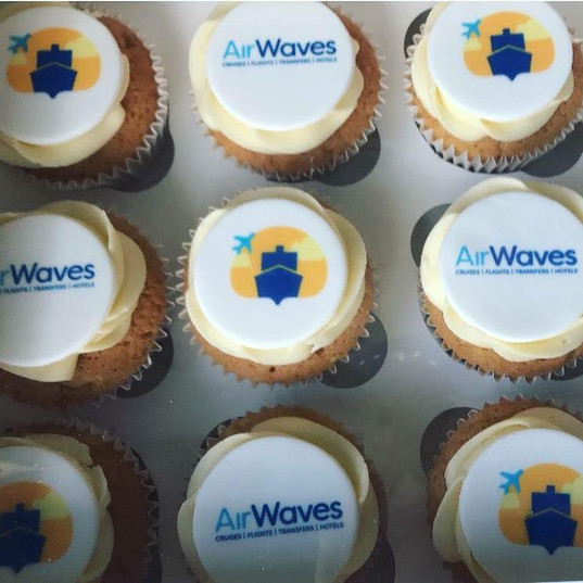 Corporate Logo Cupcakes 3