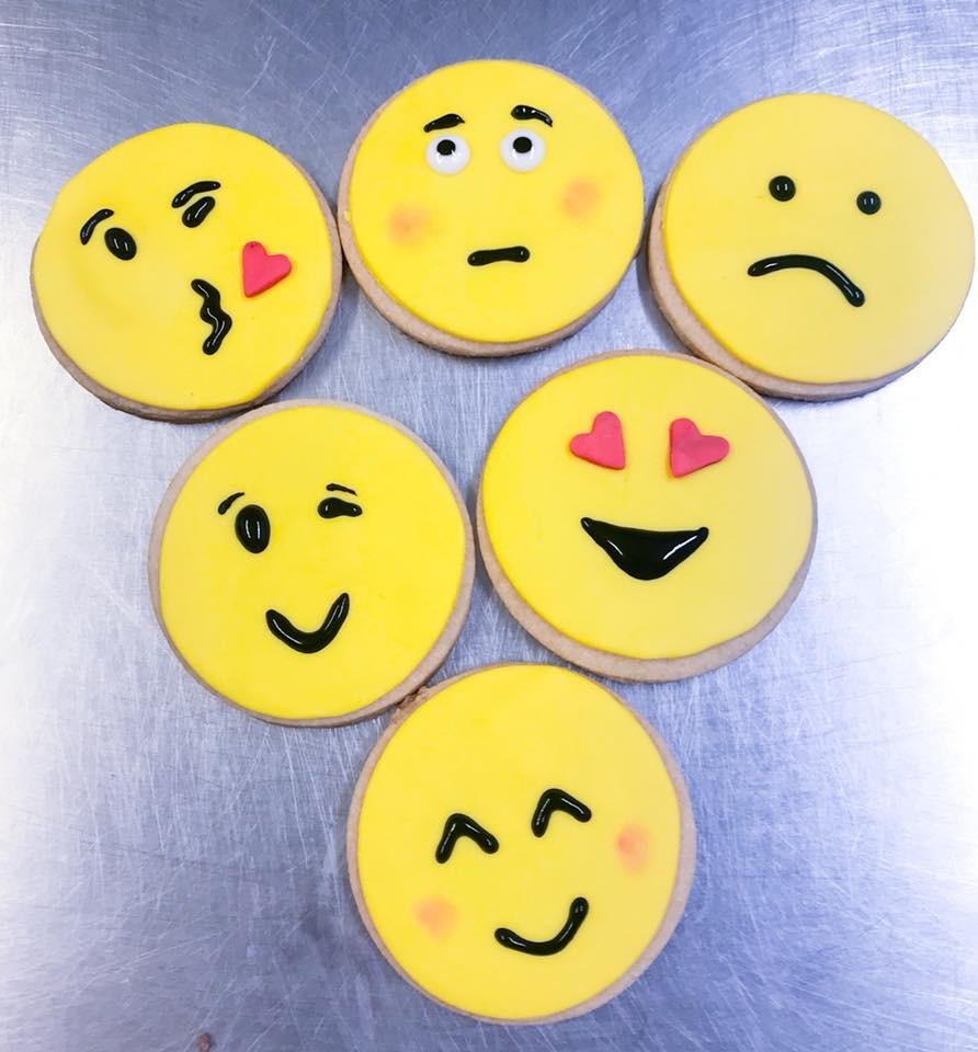 Emoji Iced Biscuits