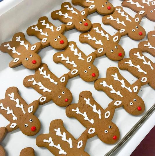 Rudolph Gingerbread Men