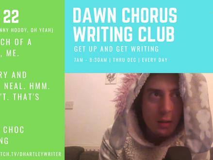 Dawn Chorus Writing Club - A Retrospective