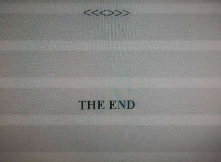 The End and the Start of Things New