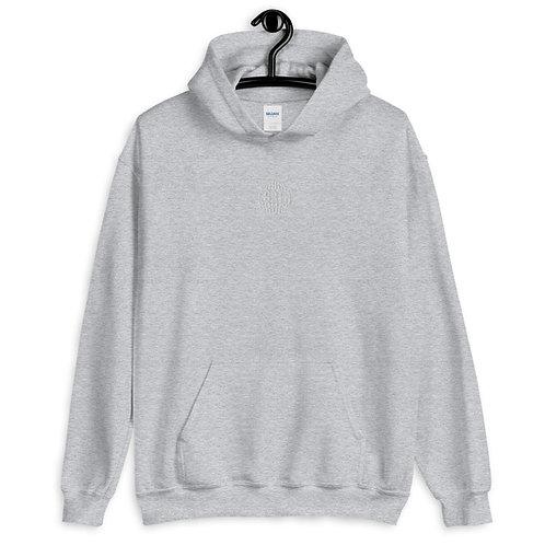 hoodie - grå